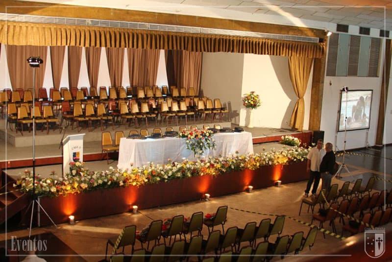 Decoração de evento na Casa de Espanha