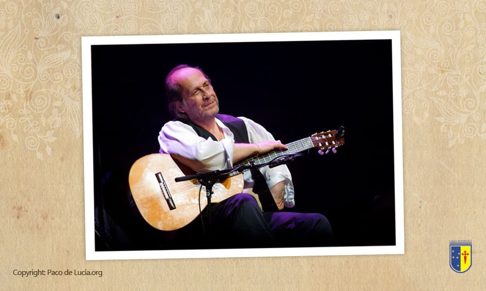 Foto de Paco de Lúcia